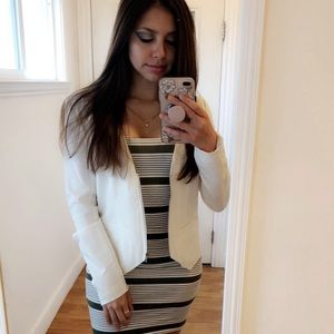 Forever 21 striped body on dress